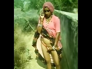 Exotic Indian Outdoor Wife