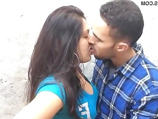 Couple Indian Kiss