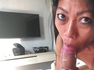 Amateur Blowjob Crazy HD Indonesian Mature MILF