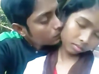 Babe Blowjob Boyfriend Indian Outdoor Public