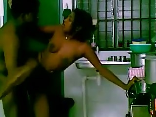 Awesome Couple Indian Kitchen MILF Funny